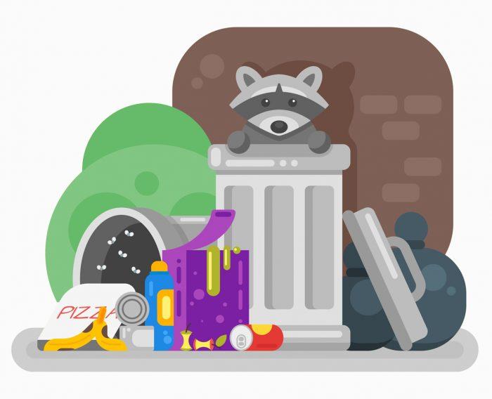 Basura no reciclada